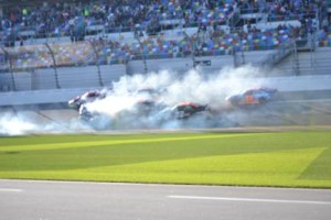 2016 Lucas Oil 200 Daytona Crash