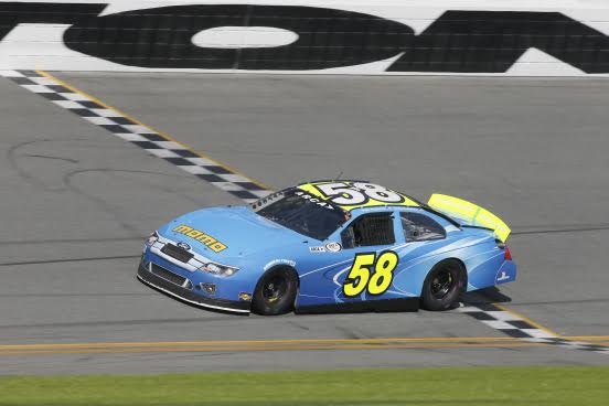 Kyle Weatherman at Daytona ARCA
