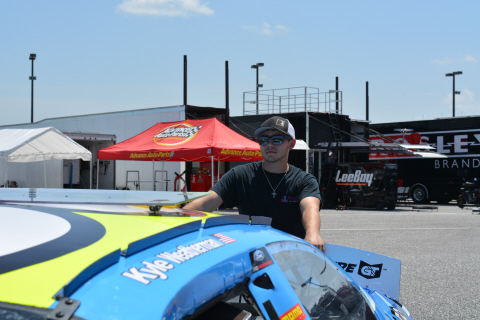 Kyle Weatherman at Talladega ARCA