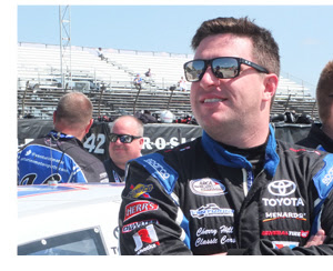 Tom Hessert at Toledo Speedway ARCA Racing Series