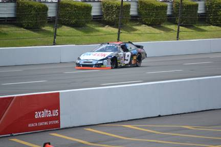 Thomas Praytor at Pocono