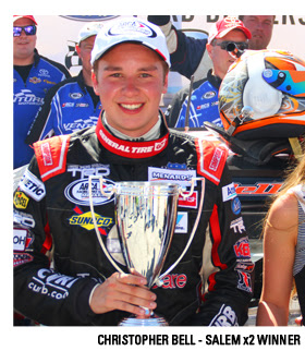 Christopher Bell Salem Speedway Winner