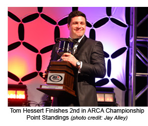 Tom Hessert 2016 ARCA Awards