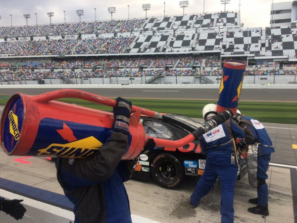 Thomas Praytor Pit Stop Daytona 2017