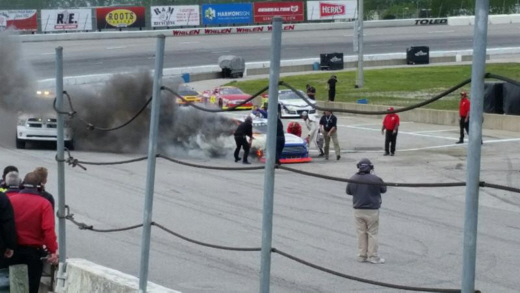 Brian Finney at Toledo 2017 Fire