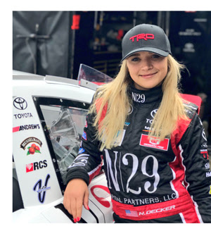 Natalie Decker ARCA Racing