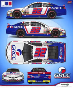 Gus Dean Throwback ARCA Racing 2017
