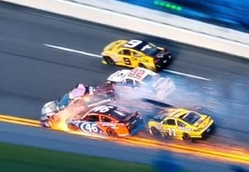 Thomas Praytor ARCA Daytona Crash