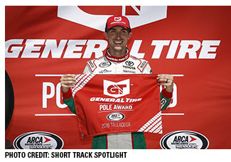 Michael Self ARCA Talladega pole