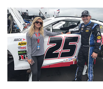Natalie Decker and Brennan Poole Venturini Pocono