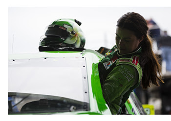 Leilani Munter ARCA Racing Vegan Strong