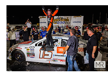Christian Eckes wins at Lucas OIl Raceway