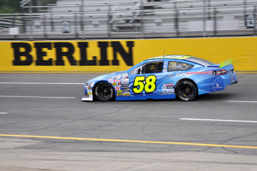 Blake Jones at Berlin Raceway 2015 ARCA Racing Series
