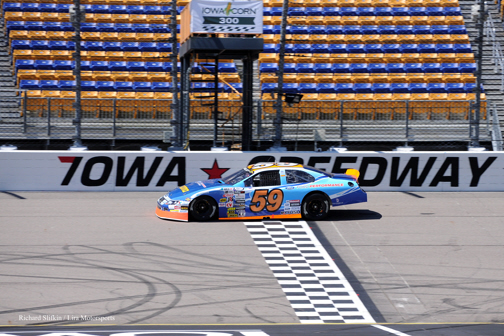 David Levine at Iowa Speedway 2015
