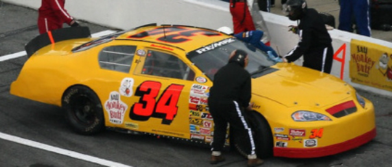Darrell Basham at Daytona 2007