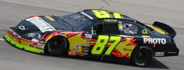 Landon Cassill at Kentucky 2007