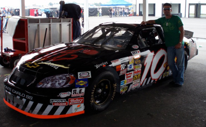 Julien Penaruiz at Pocono 2007