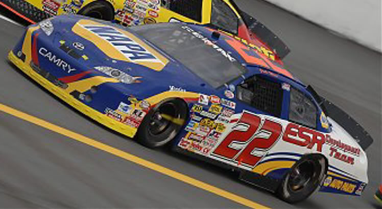 Josh Wise at Talladega 2007