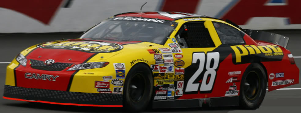 Michael Annett at Talladega 2007