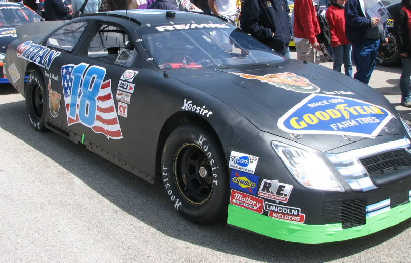 Billy Leslie at Winchester 2007
