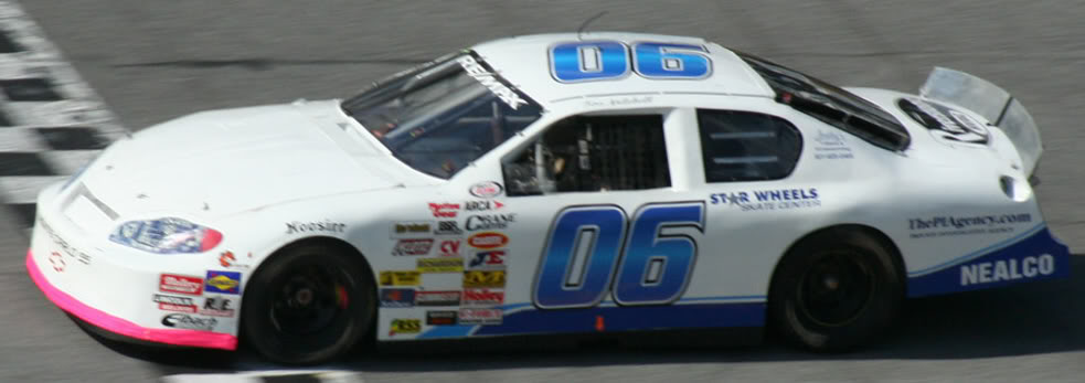 Tim Mitchell at Daytona 2008