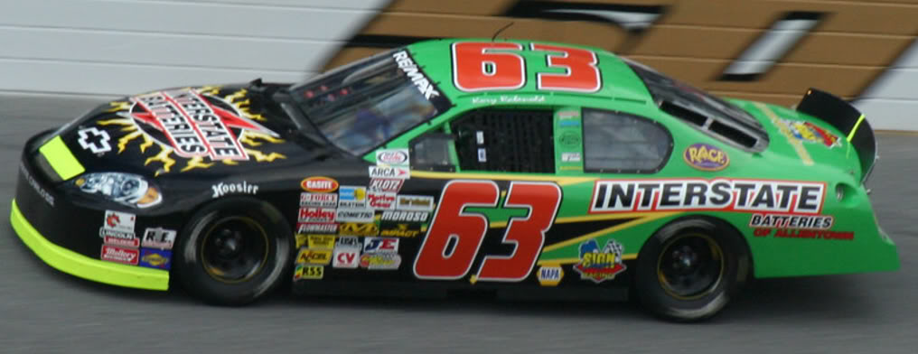 Kory Rabenold at Daytona 2008