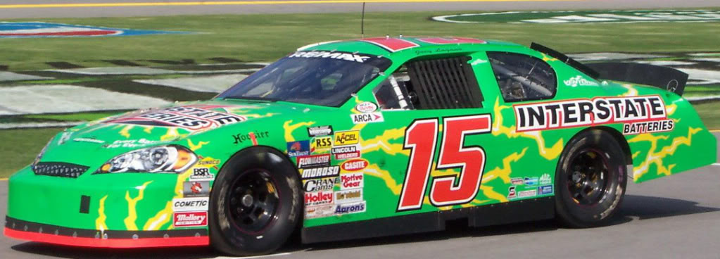 Joey Logano at Talladega 2008