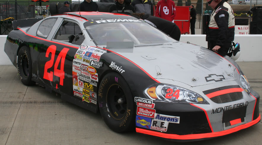 Mike Harmon at Kansas 2008
