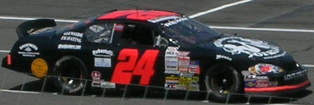Mike Harmon at Pocono 2008