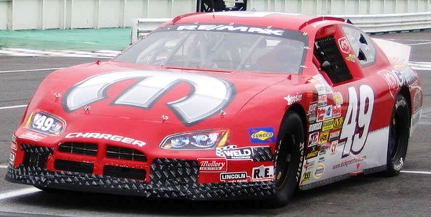 Billy Pauch Jr. at Pocono 2008