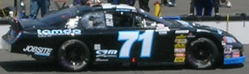 Ted Olswfski at Pocono 2008