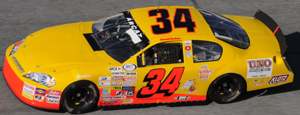 Darrell Basham at Daytona 2010