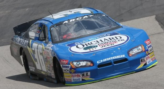 Robb Brent at Mansfield 2010