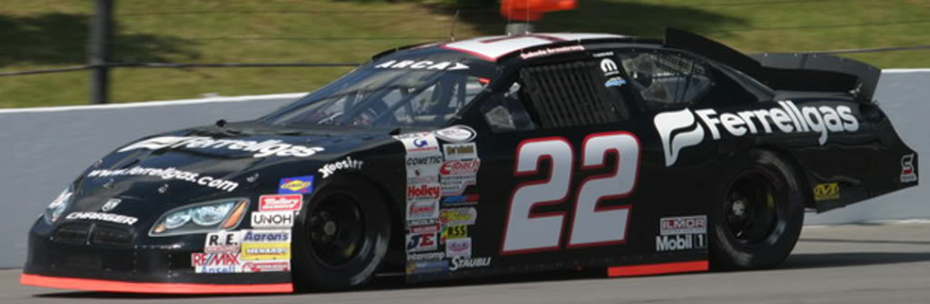 Dakoda Armstrong at Pocono 2010