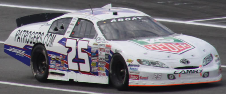Mikey Kile at Pocono 2010