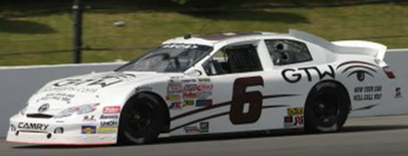 Brandon McReynolds at Pocono 2010