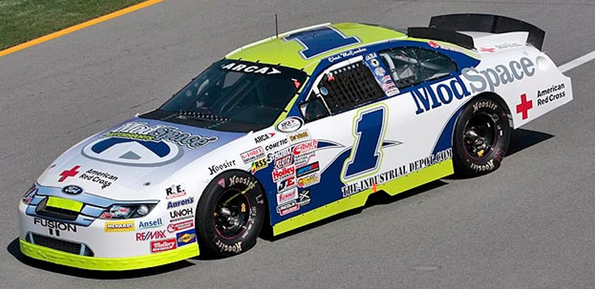 Chad McCumbee at Talladega 2010