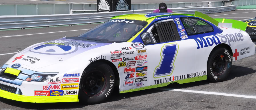 Chad McCumbee at Pocono 2010