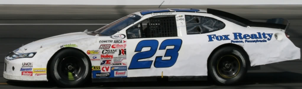 Levi Youster at Lucas Oil 2011
