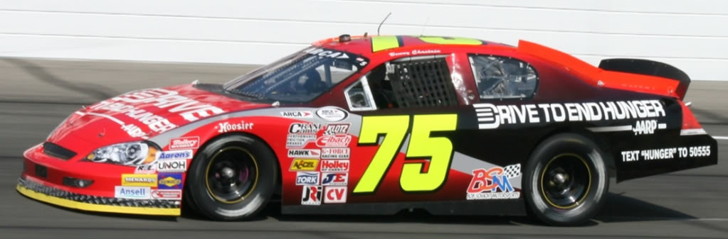 Benny Chastain at Lucas Oil 2011