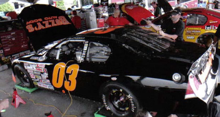 Kory Rabenold at Pocono 2011