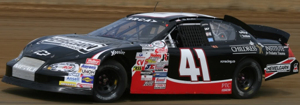 Ty Dillon at DuQuoin 2011