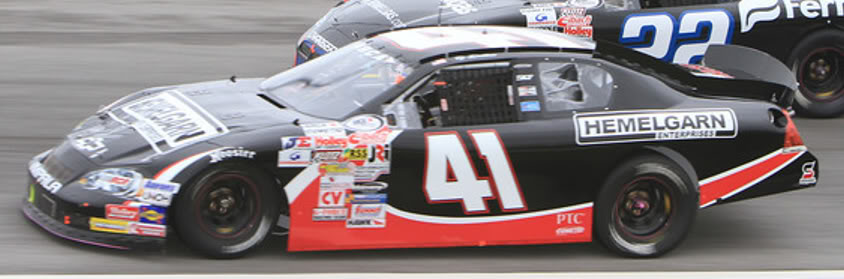 Ty Dillon at Toledo 2011