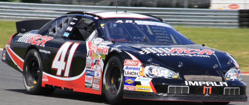 Ty Dillon at New Jersey 2011