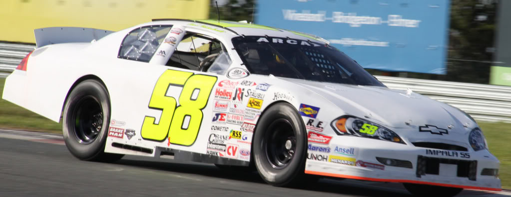 Chad Hackenbracht at New Jersey 2011