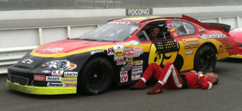 Brent Cross at Pocono 2011
