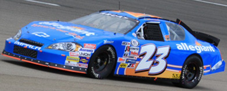 Spencer Gallagher at Iowa Speedway 2012