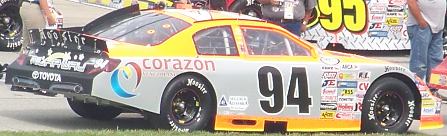 Milka Duno at Chicagoland 2012
