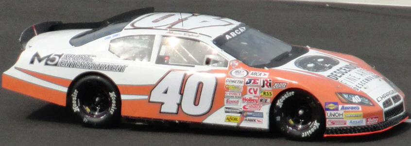 Maryeve Dufault at Pocono 2012