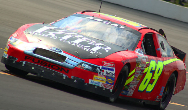 Clair Zimmerman at Pocono 2012